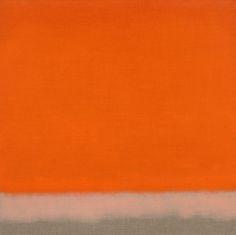 Susan Vecsey - Untitled (Red Orange)