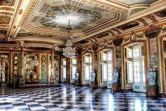 """le-rococo-en-versailles: """"Palácio de Queluz, Sintra - Portugal Foto por João Sousa """""""