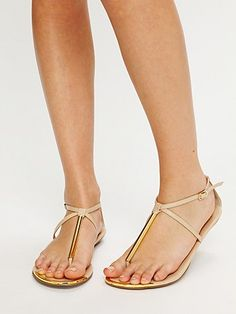 archer metal sandal $69 free people (this can be fancy or super casual)