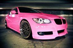 ☆ Pink BMW ☆ My wife's dream