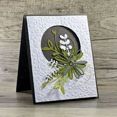 Crafting ideas from Sizzix UK: Greeting Card