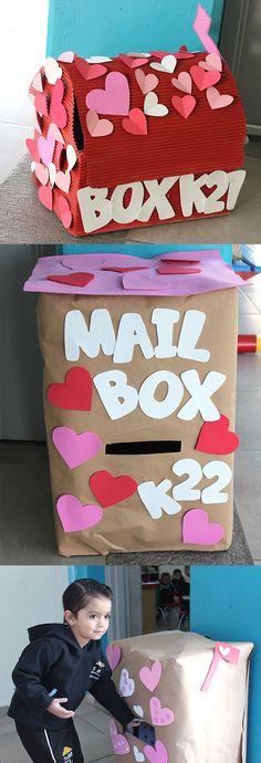 Buzón de cartas - Día del amor y la amistad