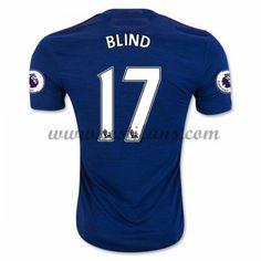 Manchester United Fotbalové Dresy 2016-17 Blind 17 Venkovní Dres