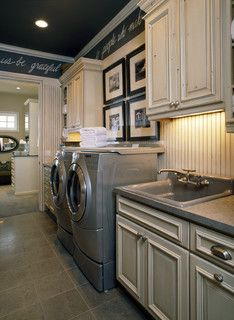 2007 Parade of Homes Village - traditional - laundry room - denver - by KGA Studio Architects