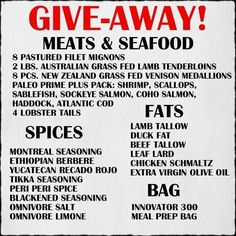 Head over to @that_paleo_guy to Enter  Happy Hump Day! I'm putting together an incredible package of some of my favorite meats seafoods cooking fats spices and even a meal prep cooler - to help someone on their way with their new healthy lifestyle (and maybe even introduce them to something new)! I'm also going to give my personal contact info to the winner to help them with any questions on how to cook these delicious foods. AND if they need help losing weight I'll even help them in that…