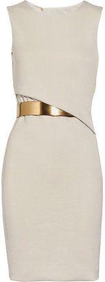 ShopStyle: Gucci Crepe-jersey backless dress