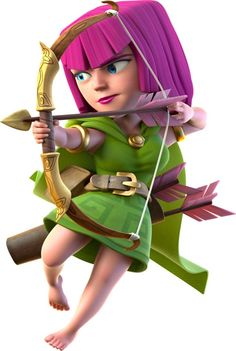 Clash-of-Clans-Archer-688x1024.jpg (688×1024)