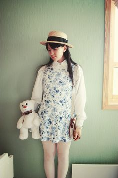 #vintage #whimsical #outfit #style #fashion #summer