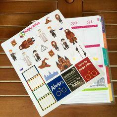 School of Wizardry Stickers | Erin Condren Life Planners, Plum Paper, Filofax, Scrapbooking, Calendars