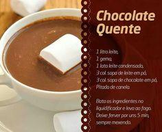 chocolate quente - Pesquisa Google