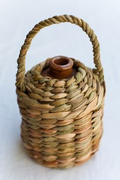 Bring a Bottle! places are going quickly for my two day rushwork course at Quay Arts 29th & 30...