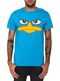 Disney Phineas And Ferb Perry The Platypus Face T-Shirt