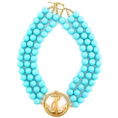 Anchors Away by Elva Fields  This necklace is fabulous