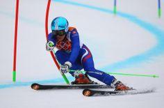 DAY 12:  Petra Vlhova of Slovakia competes during the Alpine Skiing Women's Giant Slalom http://sports.yahoo.com/olympics