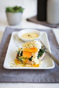 Eggs Florentine mit gelingsicherer Sauce Hollandaise | seelenschmeichelei.blogspot.de