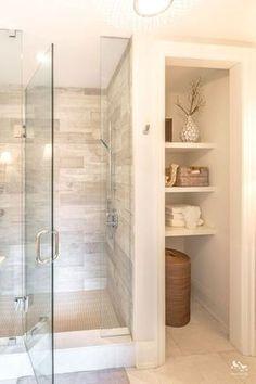 Bathroom Storage Shelves, Bathroom Organization, Bedroom Storage, Bathroom Cabinets, Bathroom Mirrors, Bathroom Closet, Dyi Bathroom, Budget Bathroom, Bathroom Cleaning