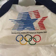 17c6b3350e97 SOLD Vintage 1984 Summer Olympics Los Angeles