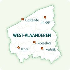kortrijk kaart west vlaanderen - Google zoeken