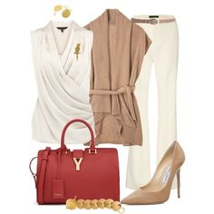 """Cashmere Cardigan"" by angela-windsor on Polyvore"