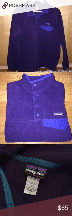 Selling this Patagonia Snap-T Fleece Pullover on Poshmark! My username is: sami_moore_. #shopmycloset #poshmark #fashion #shopping #style #forsale #Patagonia #Jackets & Blazers