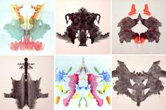 1927 Rorschach Ink Blot prints-- I would love to frame these and use them as art work! Rorschach Inkblot, Graphic Artwork, Art Forms, Artsy Fartsy, Home Art, Illustration Art, Psychology, Drawings, Creative