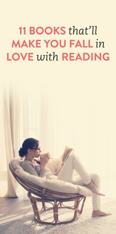 11 books to make you fall in love with reading. I just found my 2015 reading…