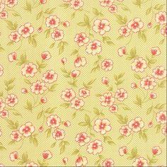 Moda Fabrics ~ Farmhouse ~ Gingham Blooms Meadow