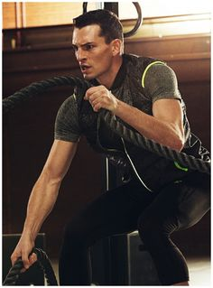 Mango Men Gets Sporty with Spring 2015 Workout Fashions