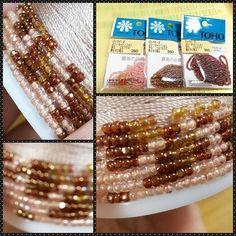 WEBSTA: 夜な夜な作業 #スリーカットビーズ キラキラでキレイだね 画像左下はわざとぼかして撮影しました #ビーズがま口#ビーズ編み#ビーズ編みがま口#crochet#beads #beadscrochet #beadcrochet #がま口#がま口財布 #Huaweimate9#mate9#ワイドアパーチャ