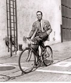 Humphrey Bogart bikes