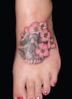 Image detail for -Girl Skull tattoo