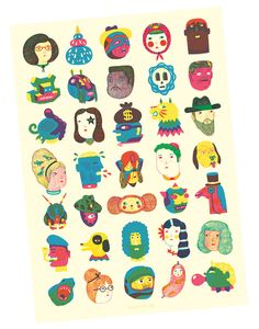 Image of Heads POSTER