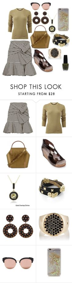 """""""Untitled #1477"""" by moestesoh ❤ liked on Polyvore featuring Veronica Beard, Michael Kors, Antelope, Glitzy Rocks, BCBGMAXAZRIA, Tom Wood, Spektre, ban.do and OPI"""