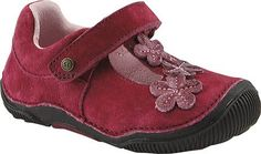 Stride Rite SRT Skyler T-Strap Flat (Toddler),Rhododendron,4 M US Toddler | Toddler shoes style