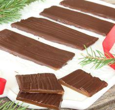 Daim – Lindas Bakskola Christmas Sweets, Fudge, Happy Holidays, Cake Recipes, Goodies, Food And Drink, Ice Cream, Candy, Snacks