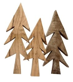 wooden trees for christmas  | Xmas decoration . Weihnachtsdekoration . décoration noël | @ Slow Fashion House |