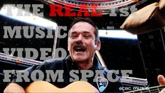 Chris Hadfield [Astronaut] .&. Barenaked Ladies: I.S.S. [.Is Somebody Singing.] . NEVER S A Y NEVER . Here He is SINGING in Space . :PPPP YouTube !!! .
