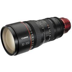 Canon CN-E 30-300mm T2.95-3.7 L S EF Mount Cinema Zoom Lens