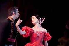 The Australian Ballet's Amber Scott in John Cranko's Onegin. Photography Lynette Wills.