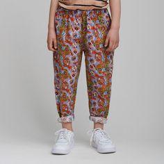 CC1197 Floral pants - Byxor - Barnkläder
