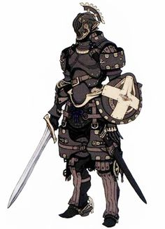 Fantasy Character Design, Character Design Inspiration, Character Concept, Character Art, Fantasy Armor, Dark Fantasy Art, Medieval Fantasy, Armadura Medieval, Armor Concept