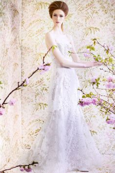 SPRING 2015 BRIDAL ANGEL SANCHEZ COLLECTION