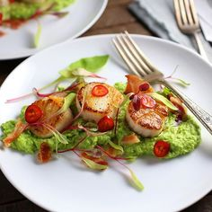 Our favorite Mother's Day recipe is delicious, impressive AND easy; Seared Scallops with Chili-Lime…