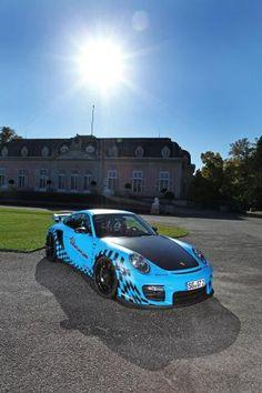 Porsche 911 GT2 RS от ателье Wimmer RS — фото 6