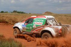 RFS 400 Toyota Castrol Rally Team 5th and 10th