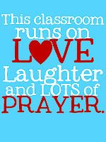 I'm so excited I will be able to put something like this in my classroom because I will be teaching at a Catholic school next year!