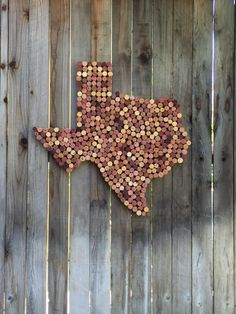 "Texas ""All my Ex's"", Wine cork, cork art, home decor, wine theme, wine cork art, cork diplay by CorkGangster on Etsy https://www.etsy.com/listing/280714598/texas-all-my-exs-wine-cork-cork-art-home"