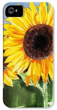 sunflower phone case