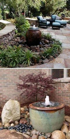 Outdoors Discover 17 Backyard Landscape Design Ideas For Your Home 50 Handsome Large Yard Landscaping Ideas Landscaping With Rocks, Front Yard Landscaping, Mulch Landscaping, Desert Landscaping Backyard, Landscaping Around Trees, Hydrangea Landscaping, Florida Landscaping, Landscaping Design, Pot Jardin