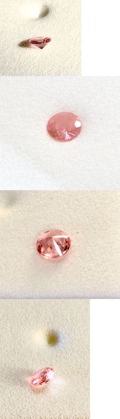 Other Loose Gemstones 282: Rhodochrosite Gem Quality Sweet Home Mine Colorado Facet 4Mm Round Pink -> BUY IT NOW ONLY: $60 on eBay!